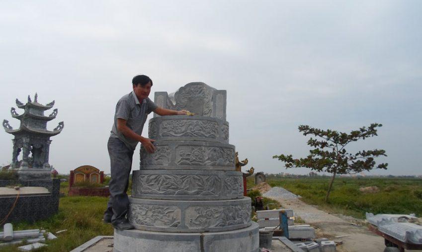 Xây mộ đá cho ông bà tổ tiên – Ý nghĩa việc xây lăng mộ