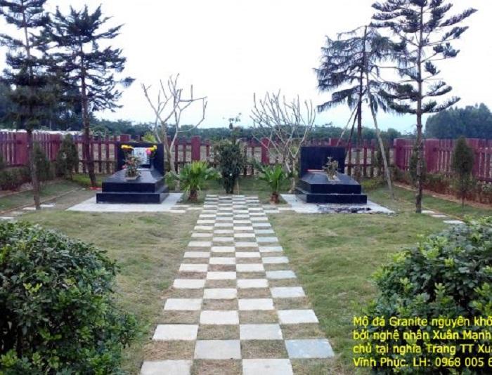 Chọn khu vực xây mộ thích hợp